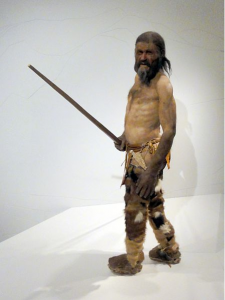 Otzi in his summer garb