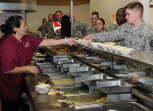 U.S. Army Dining Facility