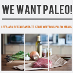 wewantpaleo.com front page
