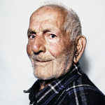 Grigoris Tsahas, 99, one of the residents of Ikaria